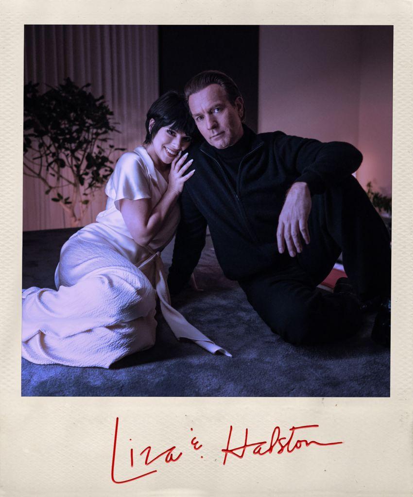 Ewan McGregor as Halston and Krysta Rodriguez as Liza Minnelli (Netflix)