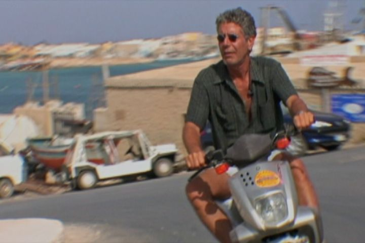 Anthony Bourdain stars in Morgan Neville's documentary ROADRUNNER, a Focus Features release.    Credit: Discovery Access / Focus Features