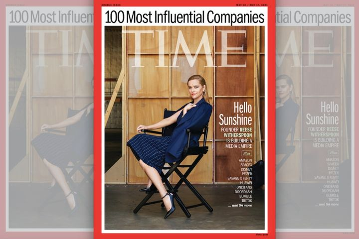 Reese Witherspoon - Time Cover