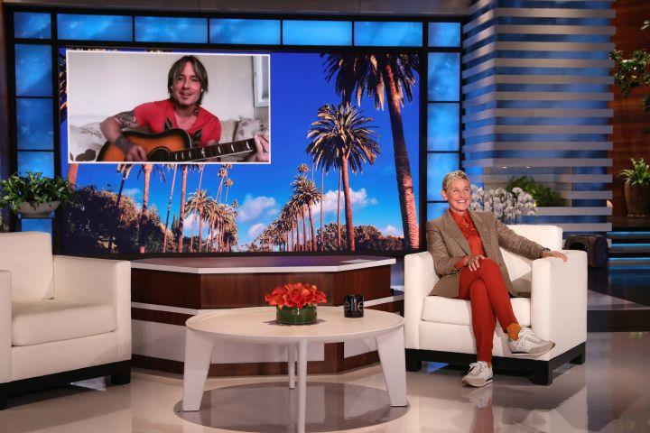 "Keith Urban on ""The Ellen DeGeneres Show"""