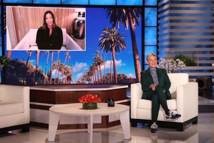 Ellen DeGeneres, Jessica Biel