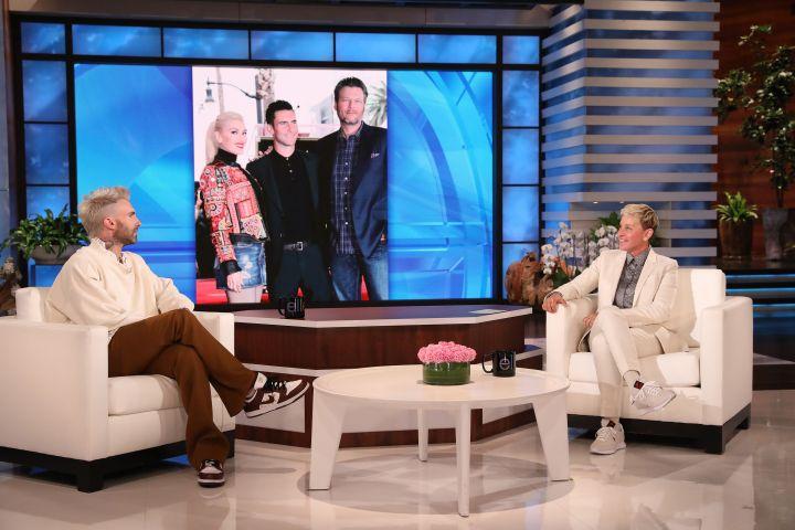 Adam Levine, Ellen DeGeneres.