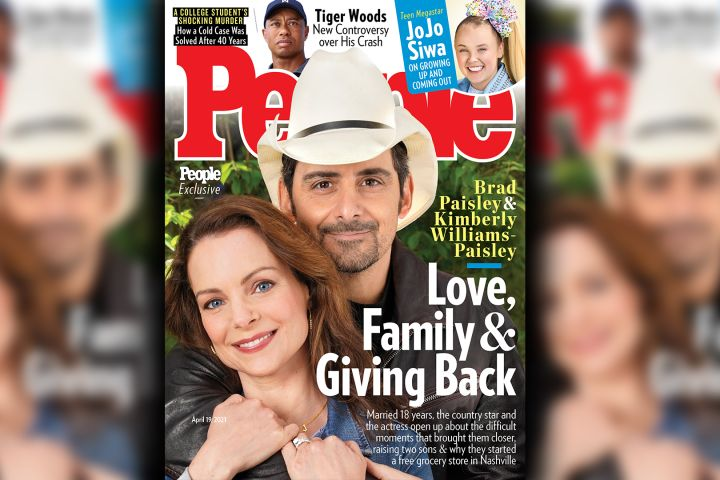 Kimberly Williams-Paisley, Brad Paisley.