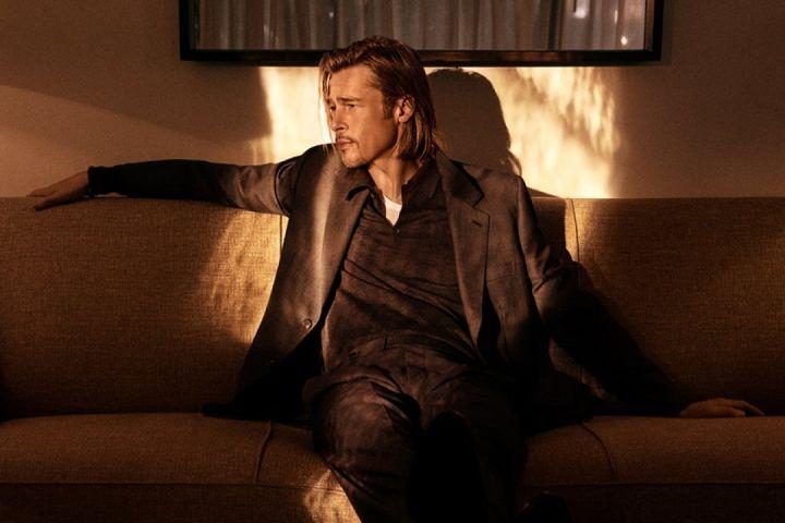Brad Pitt for Brioni
