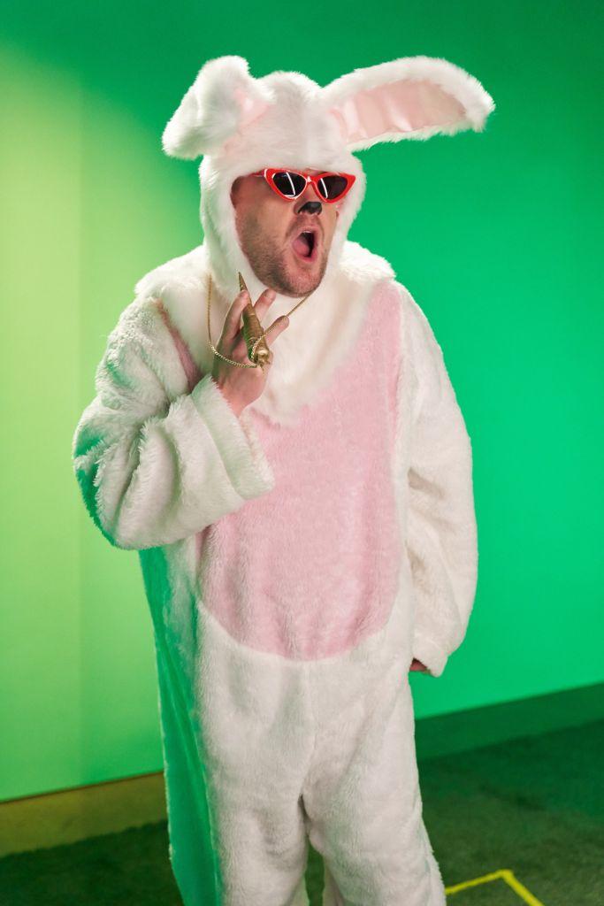 """James Corden as """"Good Bunny"""". Photo: Adam Torgerson/CBS"""