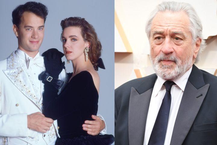 """Tom Hanks and Elizabeth Perkins in """"Big"""", Robert De Niro."""