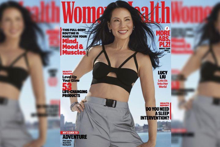 "Lucy Liu for ""Women's Health""."