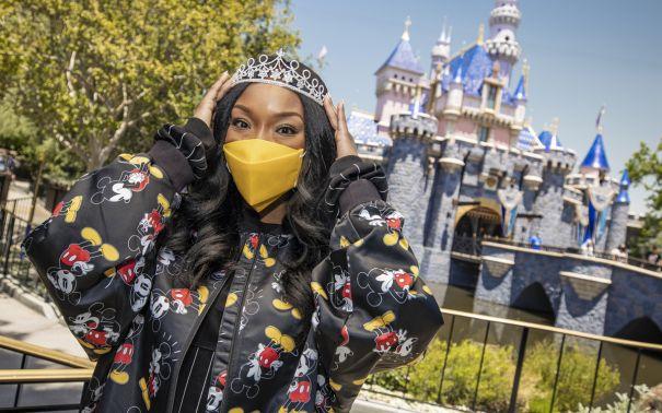 Brandy Gets Her Disney On