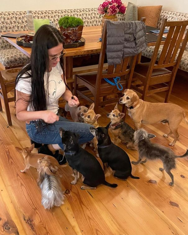 Demi Moore, Leader Of The Pack