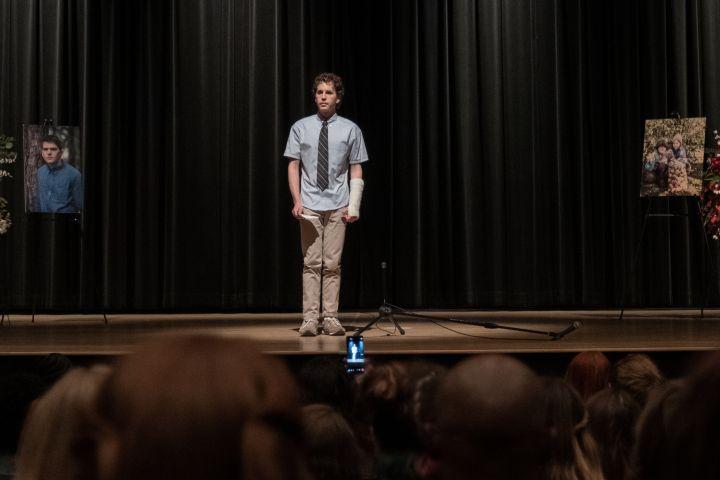 Ben Platt as Evan Hansen in Dear Evan Hansen – Universal Pictures