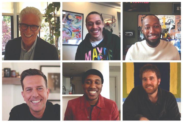 Ted Danson, Pete Davidson, Lamorne Morris, Ed Helms, Chris Redd and Ben Platt