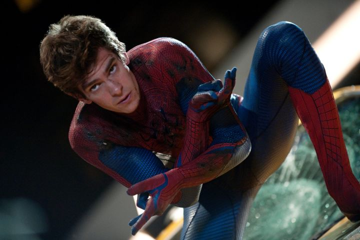 """The Amazing Spider-Man"", Andrew Garfield, as Spider-Man, 2012."