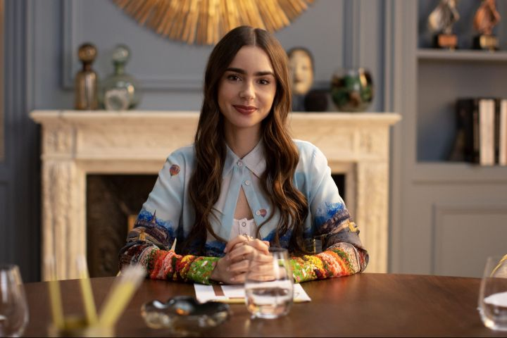 """Lily Collins, """"Emily In Paris""""."""