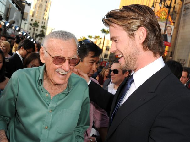 Stan Lee's Red Carpet Cameo