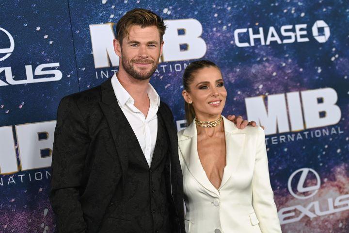 Chris Hemsworth, Elsa Pataky.