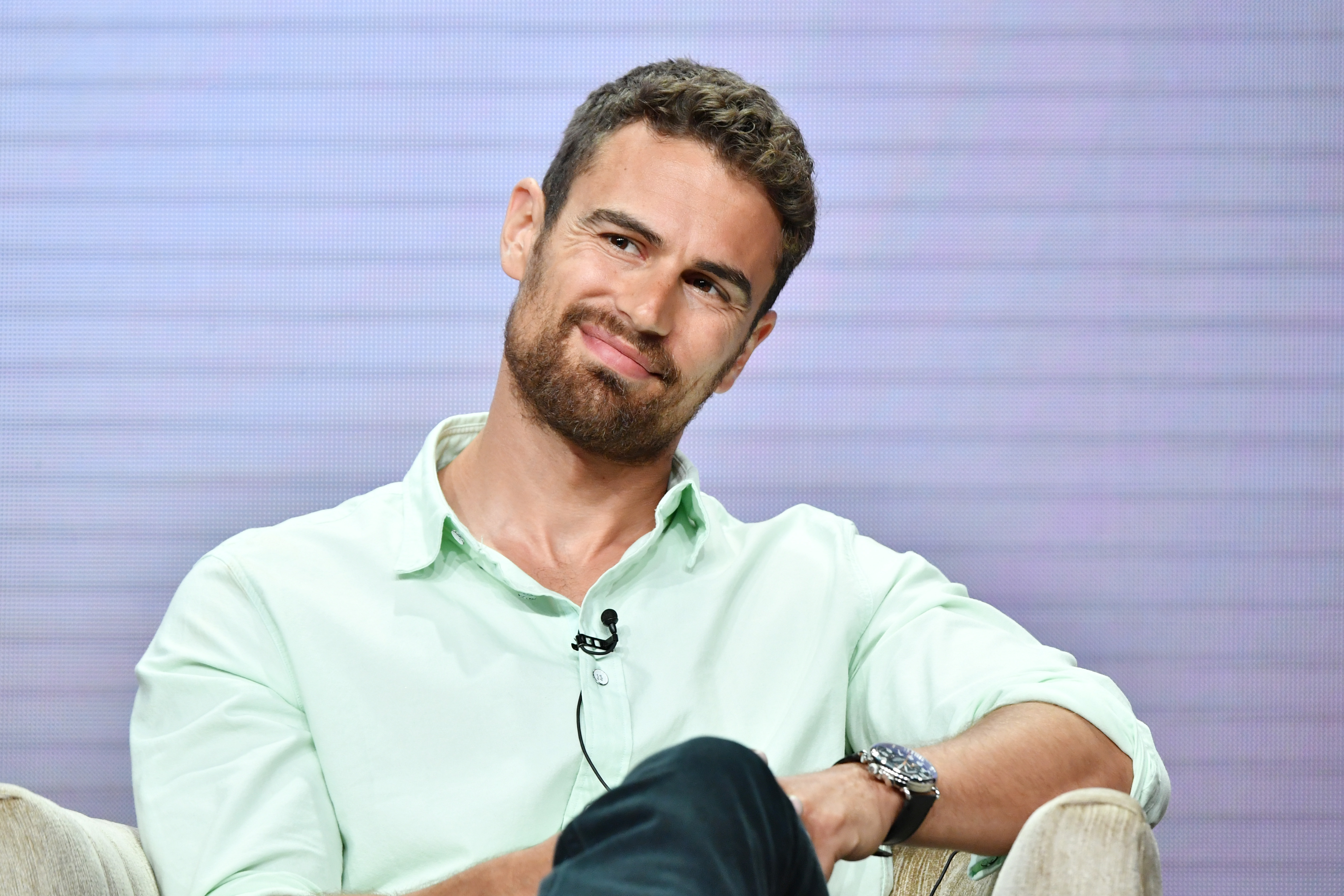 And theo wife james The Time