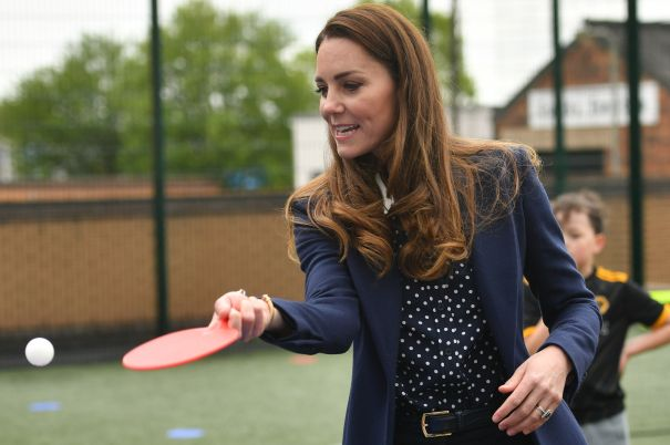 Kate Middleton Shows Off Her Table Tennis Skills