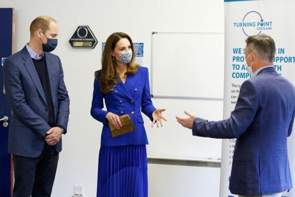 Kate Middleton, Prince William Take Scotland