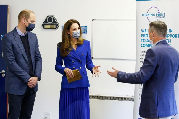 William And Kate Visit Turning Point