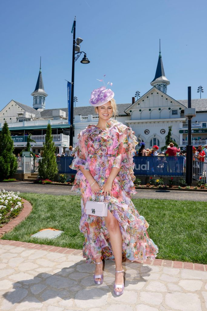 Tori Kelly attends the Kentucky Derby 147 at Churchill Downs. Photo: Michael Hickey/Getty Images for Churchill Downs