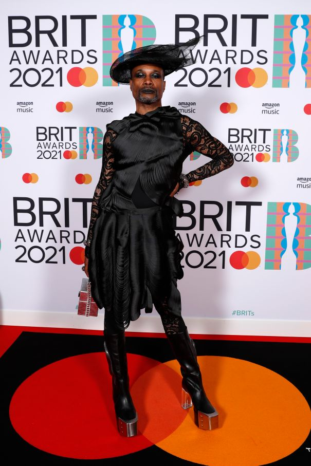 Billy Porter Pulls Out All The Stops