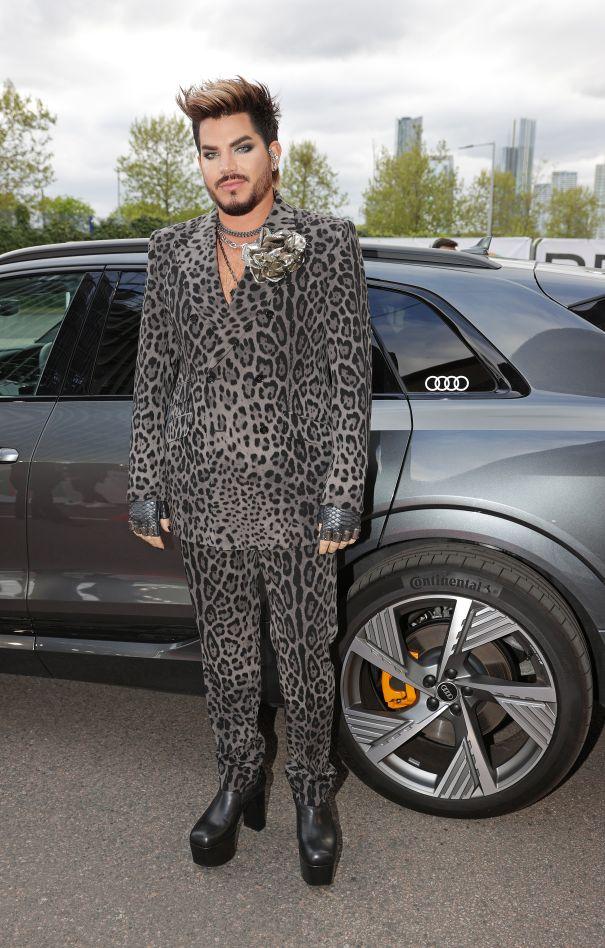 Adam Lambert Arrives