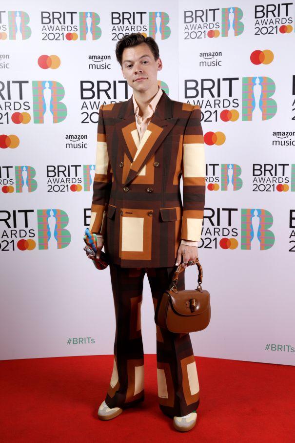 Harry Styles Brings The Looks