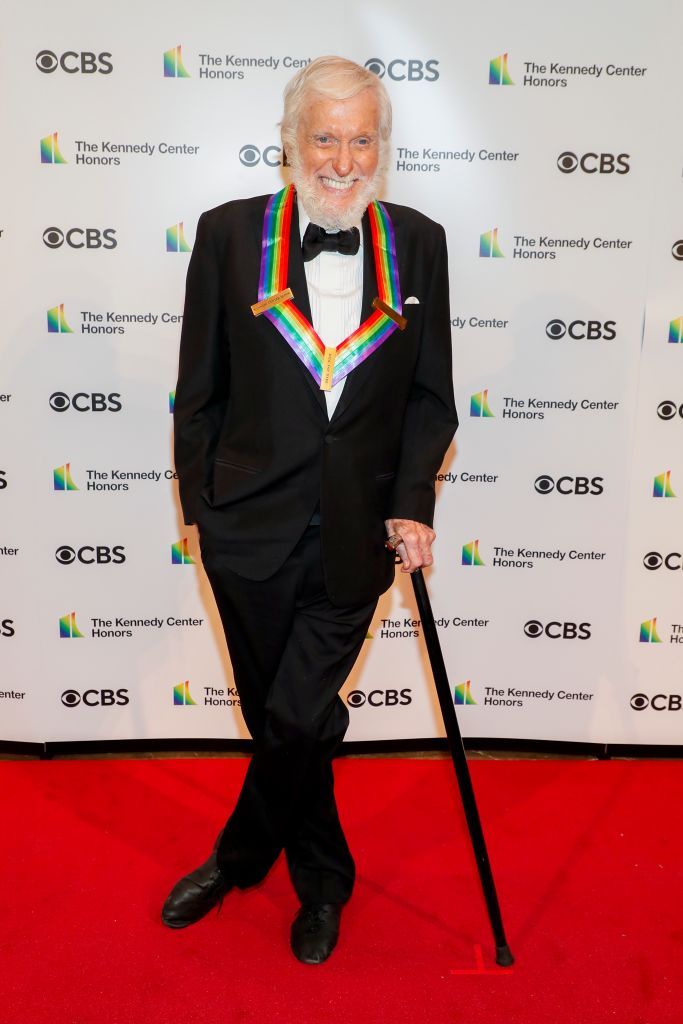Dick Van Dyke attends the 43rd Annual Kennedy Center Honours at The Kennedy Center on May 21, 2021 in Washington, DC.