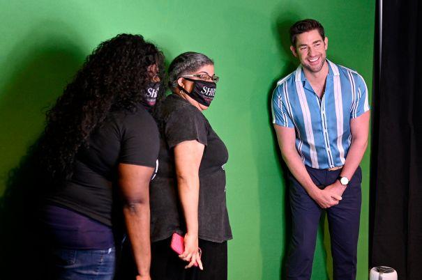 John Krasinski Greets Fans At Cleveland Screening Of 'A Quiet Place Part II'