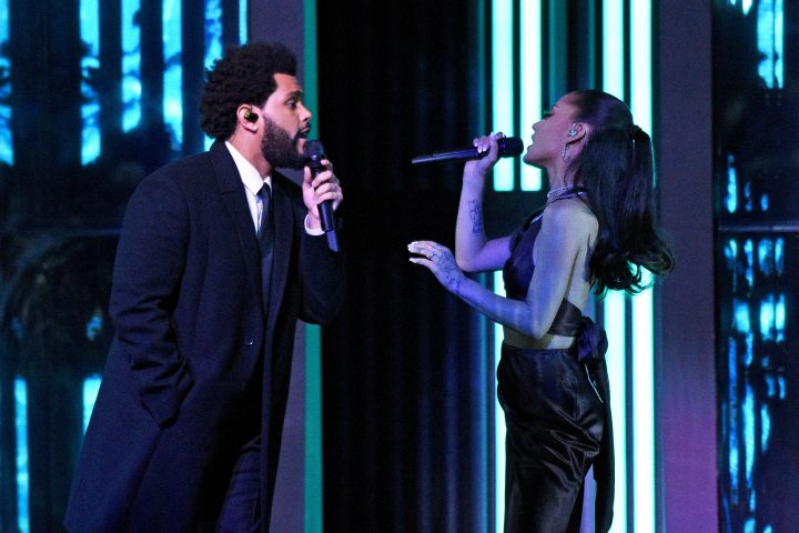 The Weeknd, Ariana Grande