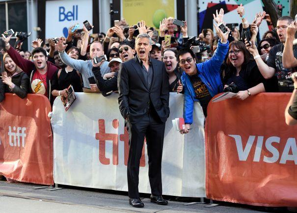 OMG It's George Clooney!