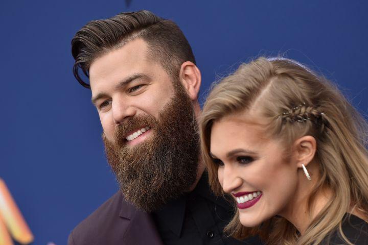 Jordan Davis and Kristen Davis