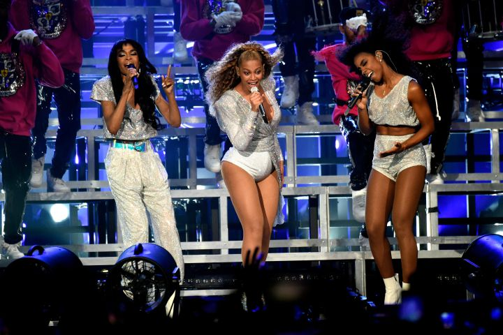 Michelle Williams, Beyoncé Knowles and Kelly Rowland of Destiny's Child.