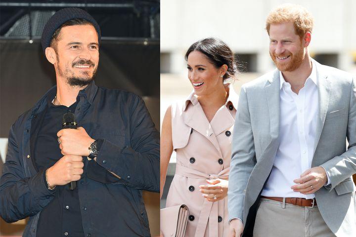 Orlando Boom, Meghan Markle and Prince Harry