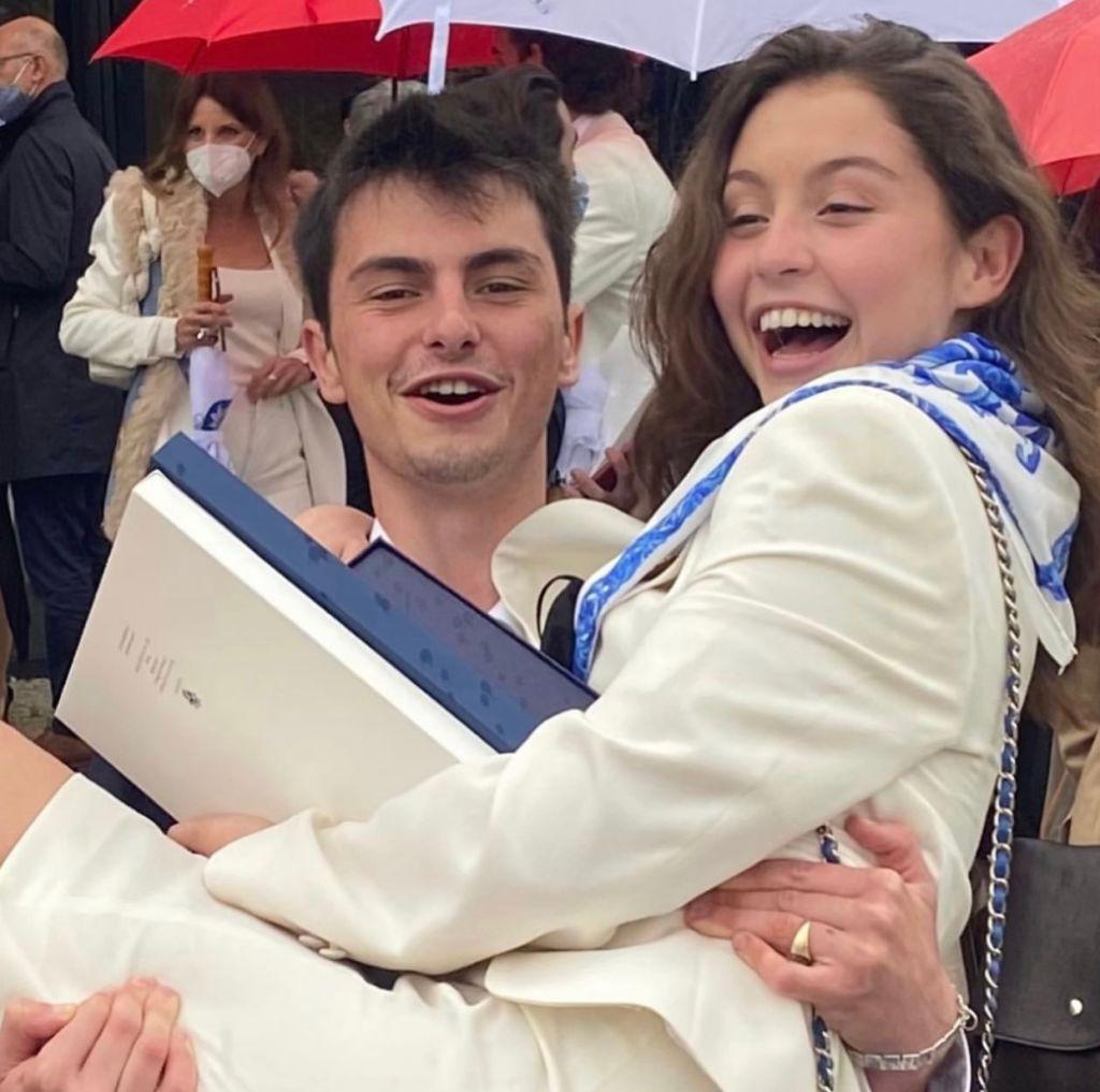 Carys Douglas and Dylan Douglas graduation