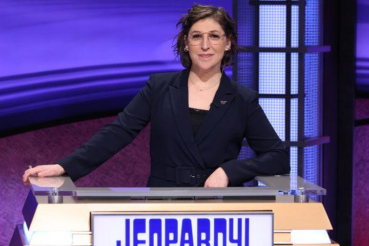 Mayim Bialik. Photo: Jeopardy!