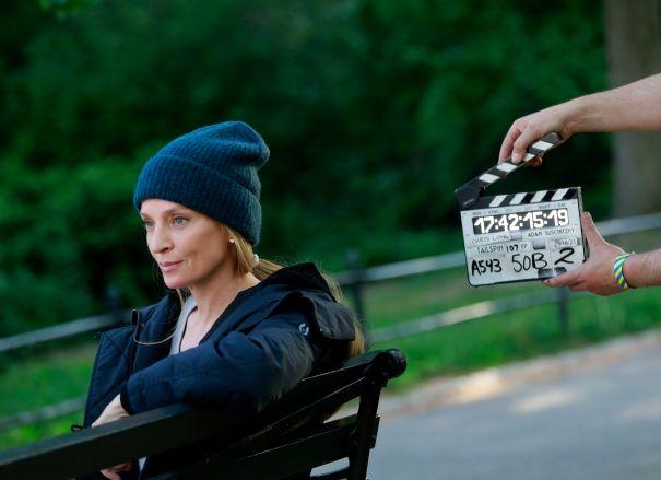 Uma Thurman Films New Series 'Suspicion'