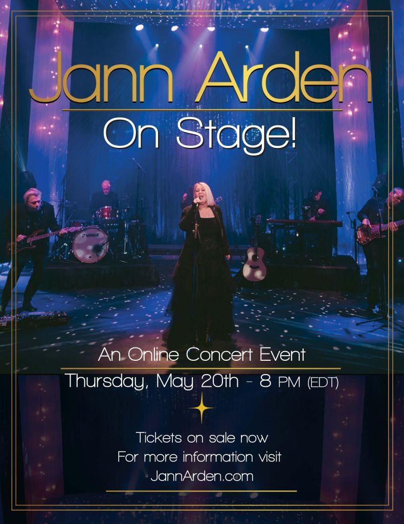 Jann Arden On Stage Poster