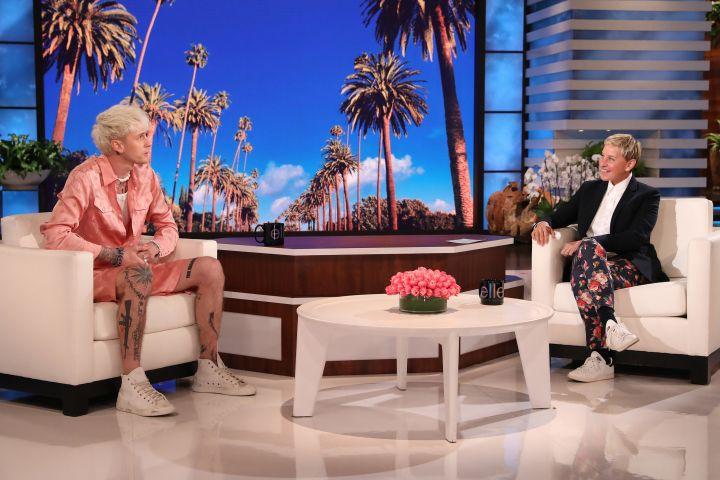 Machine Gun Kelly, Ellen DeGeneres.