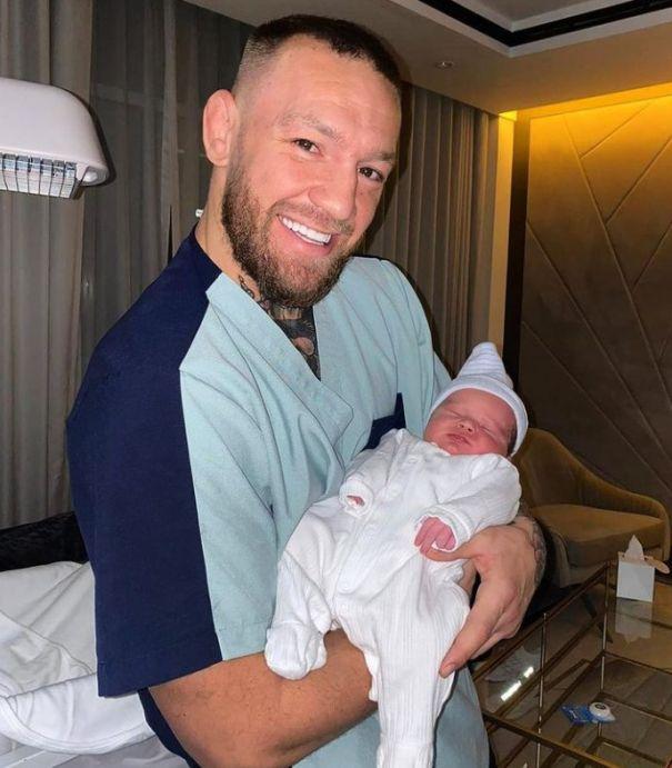 Conor McGregor And Fiancée Dee Devlin Welcome A Baby Boy