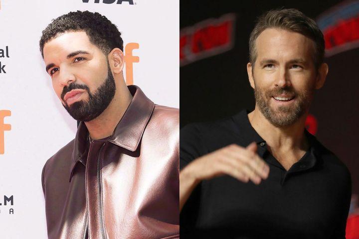 Drake, Ryan Reynolds