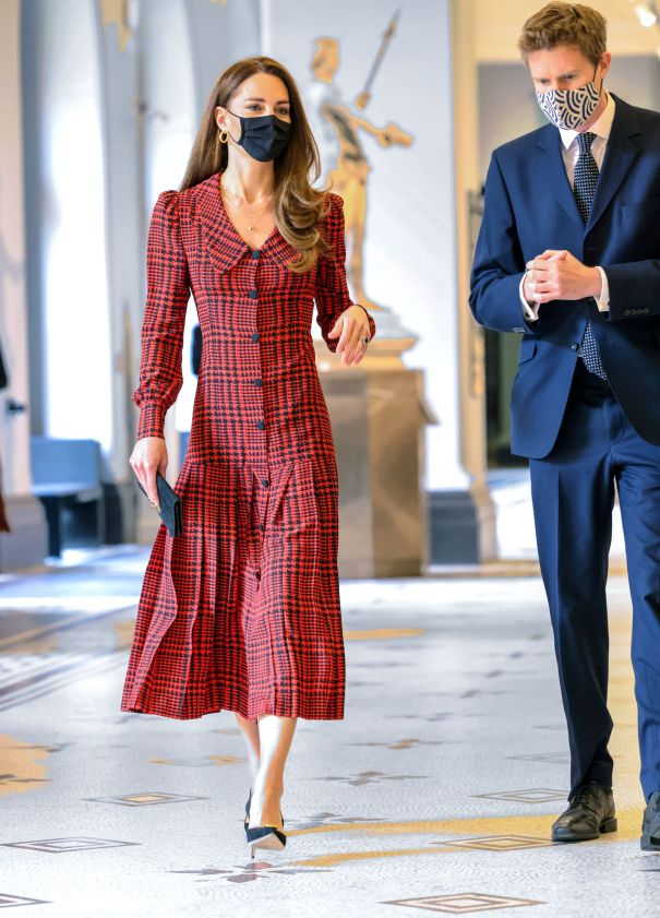 Kate Middleton Steps Out Solo For Gallery Reopening