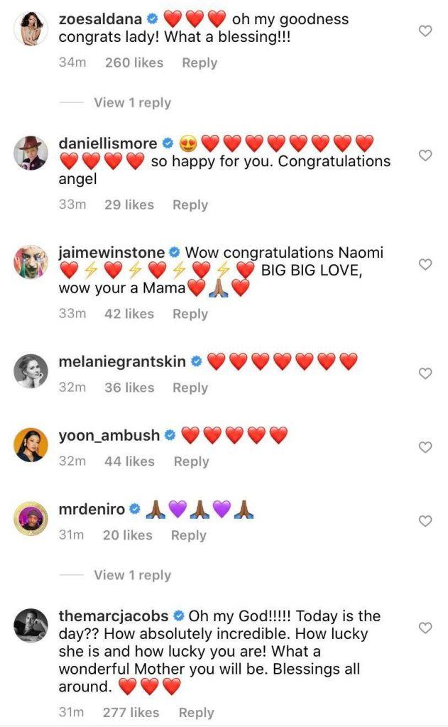 Credit: Instagram/Naomi Campbell