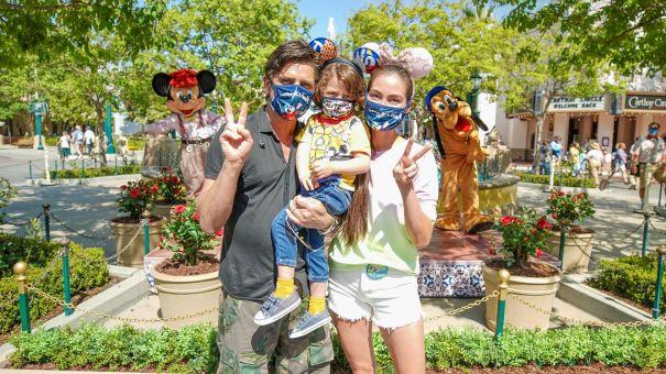 A Very Disney Birthday For Caitlin McHugh Stamos