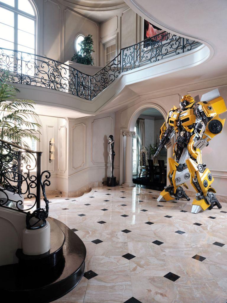 Tyrese Gibson's home. Credit: Mali Azima/AD