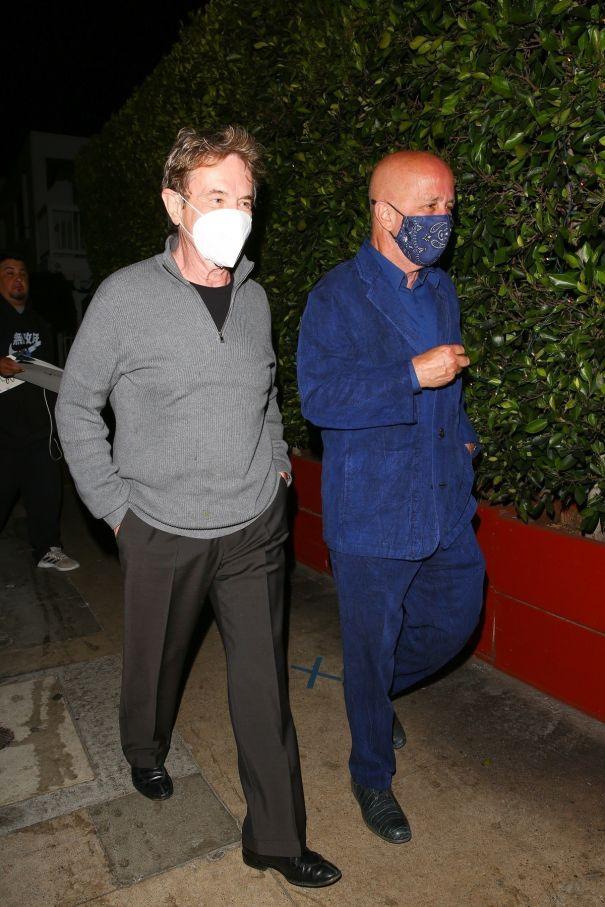 Martin Short, Paul Shaffer Step Out In Santa Monica
