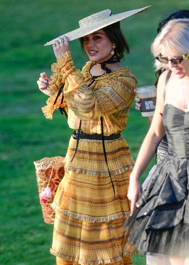 Vanessa Hughens Gets Dressed Up