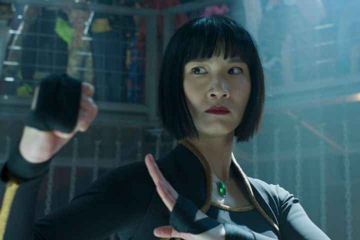Xialing (Meng'er Zhang) in Marvel Studios' SHANG-CHI AND THE LEGEND OF THE TEN RINGS. Photo courtesy of Marvel Studios. ©Marvel Studios 2021.