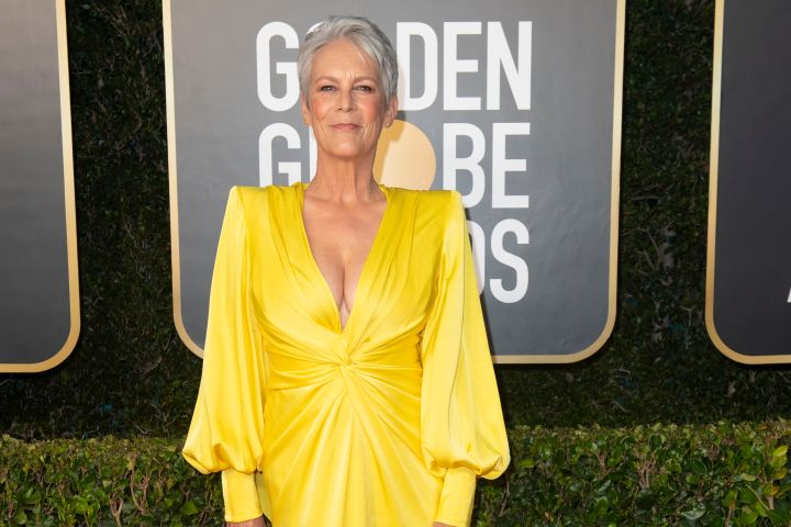 Jamie Lee Curtis 2021 Golden Globes