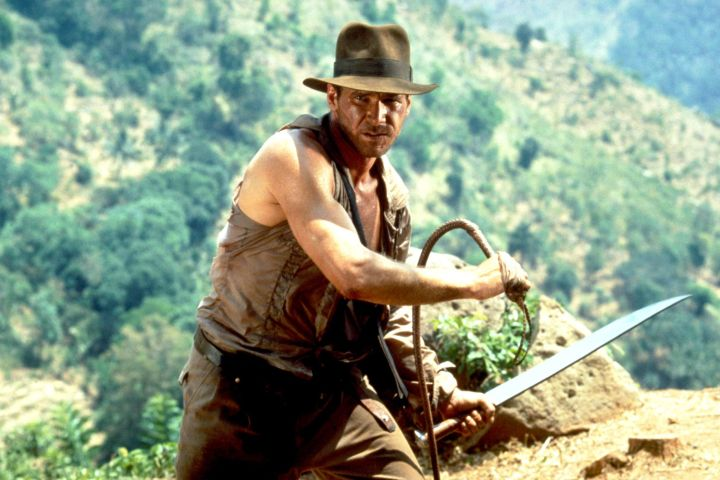 """Harrison Ford in """"Indiana Jones and the Temple of Doom"""""""